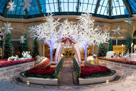 Bellagio Conservatory Christmas